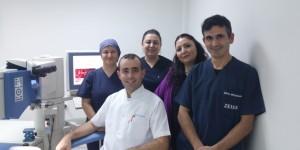 Refraktif Cerrahi Birimi hemşirlerimiz ve personelimizle birlikte